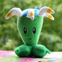 厂家直销植物大战僵尸2毛绒玩具创意向日葵 豌豆射手娃娃公仔批发