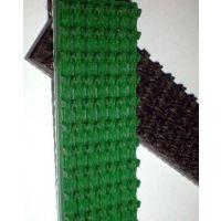 pvc绿色草带,草型花纹输送带,4mm环形草型皮带
