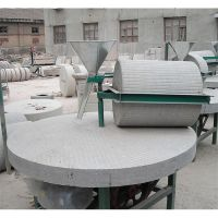 振德牌粮食加工设备 电动面粉石磨机 小麦面粉专用石磨机