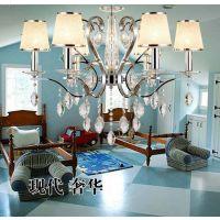 宇昂 灯具6头吊灯卧室吊灯 欧式餐厅吊灯 奢华个性客厅铁艺吊灯