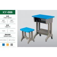 升降课桌椅厂家直销单人课桌小学生培训班桌椅辅导班桌椅塑钢桌椅