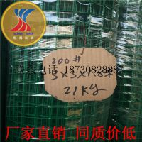 河南土地承包圈地专用铁丝网 电焊网 浸塑荷兰网厂家直销同质价低