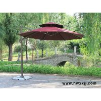 偏转罗马伞保安岗亭广告罗马伞庭院花园3m太阳伞户外遮阳伞
