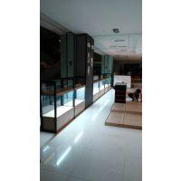 杭州展柜厂加工定制惠利展柜黑铁做旧HL3305优等品服装箱包道具展示柜