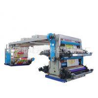 4色编织布柔版印刷机,编织袋成套设备-成卷编织袋印刷机