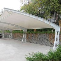 热销 品牌膜结构厂家专业加工定制雨棚停车棚膜结构景观棚 爆款