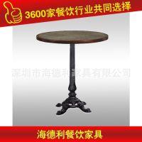 精品促销 餐椅组合实木餐桌椅 美式餐桌椅火拼热卖