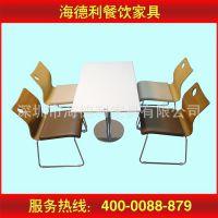 厂家定做家具 茶餐厅餐桌椅组合 简约餐桌椅 人造大理石餐桌