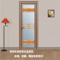 佛山融骏门窗铝合金平开门厕所卫生间门卫浴室内门XP-200