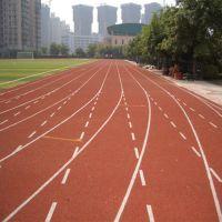 厂家直销塑胶跑道材料厂家 学校操场跑道工程施工 塑胶跑道每平米价格