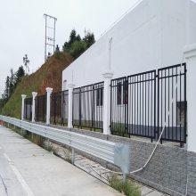 中山围墙护栏报价 学校防爬铁栏杆 喷塑围栏专业生产