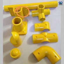 玻璃钢拉挤型材工艺流程 怎样区分玻璃钢圆管的质量好坏 河北华强