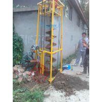 汽油电线杆钻孔机 造林挖坑机 挖坑植树机 植树钻栽树挖坑机