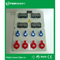 ZJ/FSen富森MSJC-1806-F12路防水工业组合插座箱 可按需定制