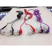 批发2014新款水晶线耳机 透明线手机耳机 入耳式MP3耳机
