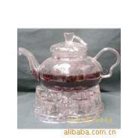 供应茶壶、花茶壶、茶具、花茶壶欧式南瓜壶加心型底座