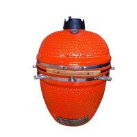 orange 烧烤炉 kamado egg grill 陶瓷烧烤炉 户外花园木炭烧烤炉
