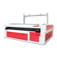 供应金运激光CJGV160130LD全自动印花服切割机、骑行服切割机、数码印花切割机
