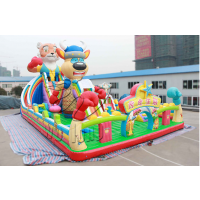 郑州卧龙厂家多种款式充气城堡滑梯价格表 质量可靠
