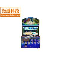 儿童投币游戏机电玩游戏机顽皮鳄鱼敲击游戏机双人竞技游戏机疯狂鳄鱼报价