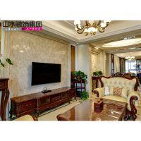 山水装饰设计玫瑰园140平户型实景图照片65196100