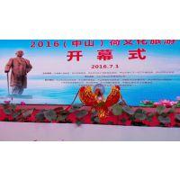 广州出租庆典启动莲花道具,花瓣盛开启动台,升降莲花球制作租赁