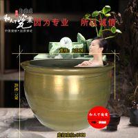 和艺陶瓷 温泉馆洗浴大缸器材 日式韩式美式 中式陶瓷泡澡缸 上海极乐汤浴缸