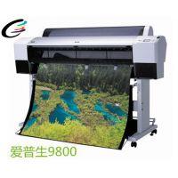齐彩供应EP9800大幅面数码打印机 相片打印机 影楼海报输出
