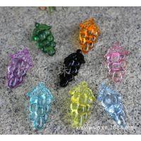 透明葡萄吊坠珠子  亚克力卡通饰品挂饰 蝴蝶透明亚克力造型珠子