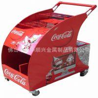 购物车厂家定做多功能购物车 超市购物车 可口可乐购物车HSX-025