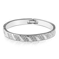 欧美潮流首饰 镶嵌钻石水晶手链 韩国精品女款手环送女友送老婆