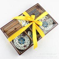 厂家直销婚庆回礼商务礼品广告促销活动赠品寿宴回礼陶瓷套装定制