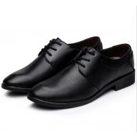 春季新款男士真皮休闲鞋英伦商务正装皮鞋批发厂家一手货源