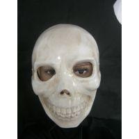 面具批发新款万圣节面具手绘PVC鬼舞步面具