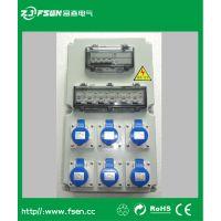 直销移动电源插座箱 户外配电箱 防尘防水检修插座箱