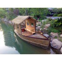 6米普吉岛观光船 景区观光旅游木船 户外旅游赏景木船 厂家直销