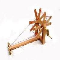60608创意民间工艺品,农村微缩微型景观劳动农具 纺车模型批发