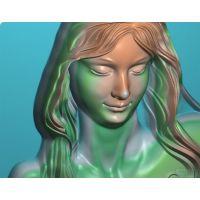 浮雕仿真工艺品雕刻欧式洋花雕刻镂空雕刻技术编程加工培训学校