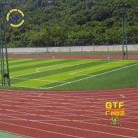 幼儿园塑胶跑道EPDM塑胶地胶施工 硅PU篮球场地胶