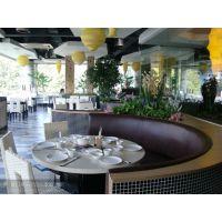 罗湖大理石餐桌,卡座沙发配大理石餐台厂家定制大理石火锅桌、茶餐厅桌椅