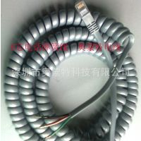 厂家直销 PU弹簧线 PVC弹簧线 扁平螺旋线 彩色弹簧线 批发