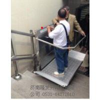 长沙斜挂式升降机 轮椅电梯 家用垂直升降机厂家济南隆发机械
