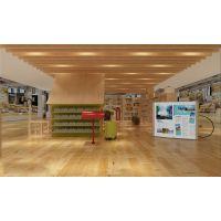 成都的书店装修_书吧书屋设计效果图装修设计公司