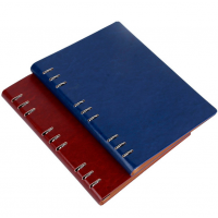 16k活页笔记本定制 记事本 内芯100g道林纸 封面多种颜色 商务办公文具 瑞丰达无锡定制礼品