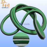 擎川everlar直销加绿色导条泡棉的轻型pvc输送带
