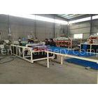 Roofing Corrugated Roll Forming Machine Workshop 1130 mm PVC Roof Tile Machine