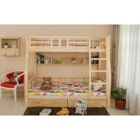 儿童上下铺床木质高低子母床实木双层床天伦之乐的享受就是好简单