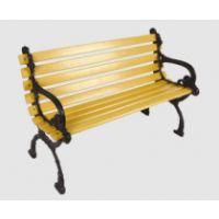 广东塑钢园林休闲椅/花园椅/公园庭院椅/长条椅/防腐防锈休闲椅
