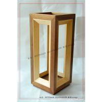 【工厂生产】木制展示酒架 单支酒木框 实木木酒盒 干红酒包装盒