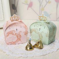 结婚喜糖盒子批发 糖果盒 创意个性皇冠结婚婚礼糖盒 婚庆 回礼盒